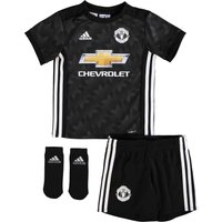 Manchester United Away Baby Kit 2017-18, Black