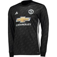 Manchester United Away Shirt 2017-18 - Long Sleeve, Black