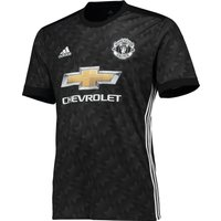 Manchester United Away Shirt 2017-18, Black