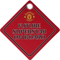 Manchester United Car Future Superstar On Board Hanger
