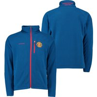 Manchester United Columbia Fast Trek II Fleece Jacket - Marine Blue - Mens