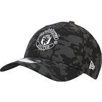 Manchester United New Era 9FORTY Reflect Camo Adjustable Cap - Black - Adult