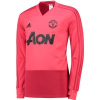Manchester United Training Top - Pink