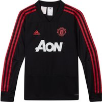 Manchester United Training Top - Black - Kids