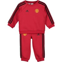 Manchester United 3 Stripe Baby Jogger - Red