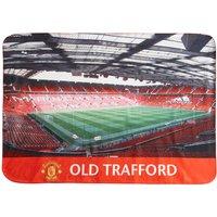 Manchester United Stadium Giant Sherpa Fleece Blanket
