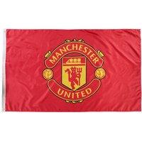 Manchester United Crest Flag - 5 x 3ft
