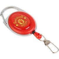 Manchester United Carabiner Keyring