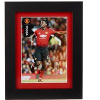 Manchester United 2018-19 Pogba Framed Print - 15 x 20cm