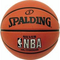 Spalding NBA Silver Outdoor Basketball - Size 7