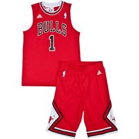 Chicago Bulls Road Replica Jersey & Shorts - Derrick Rose - Junior
