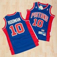 Detroit Pistons Road Soul Swingman Jersey -Dennis Rodman - Mens