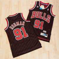 Chicago Bulls Alternate Soul Swingman Jersey -Dennis Rodman - Mens