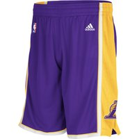 Los Angeles Lakers Road Swingman Shorts - Mens