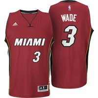 Miami Heat Alternate Swingman Jersey - Dwyane Wade - Mens