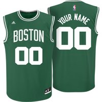 Boston Celtics Road Replica Jersey - Custom - Mens