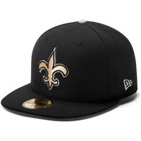 New Orleans Saints New Era 59FIFTY Authentic On Field Fitted Cap