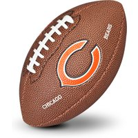 Chicago Bears NFL Team Logo Mini Size Rubber Football