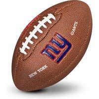 New York Giants NFL Team Logo Mini Size Rubber Football