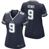Dallas Cowboys Home Game Jersey - Tony Romo - Womens
