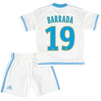 Olympique de Marseille Home Kit 2015/16 - Infants with Barrada 19 printing