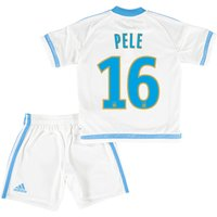 Olympique de Marseille Home Kit 2015/16 - Infants with Pele GK 16 printing