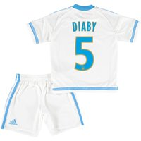Olympique de Marseille Home Kit 2015/16 - Infants with Diaby 5 printing