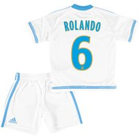 Olympique de Marseille Home Kit 2015/16 - Infants with Rolando 6 printing
