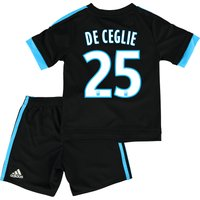 Olympique de Marseille Away Kit 2015/16 - Infants with De Ceglie 25 printing