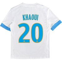 Olympique de Marseille Home Shirt 2017-18 - Kids with Khaoui 20 printing