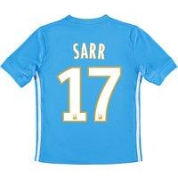 Olympique de Marseille Away Shirt 2017-18 - Kids with Sarr 17 printing