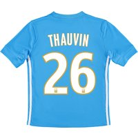 Olympique de Marseille Away Shirt 2017-18 - Kids with Thauvin 26 printing