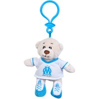 Olympique de Marseille Home Bear Bag Clip - 10 cm