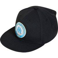 Olympique de Marseille Flat Brim Cap - Black/Om Blue