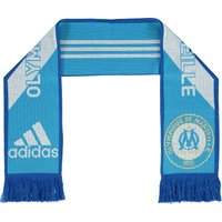 Olympique de Marseille 3 Stripe Scarf - Om Blue/Core White