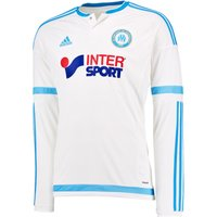 Olympique de Marseille Home Shirt 2015/16 - Long Sleeved