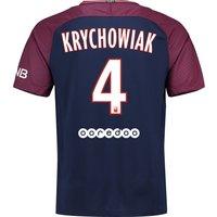 Paris Saint-Germain Home Stadium Shirt 2017-18 with Krychowiak 4 printing