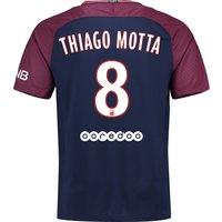 Paris Saint-Germain Home Stadium Shirt 2017-18 with Thiago Motta 8 printing