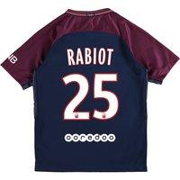 Paris Saint-Germain Home Stadium Shirt 2017-18 - Kids with Rabiot 25 printing