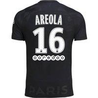 Paris Saint-Germain Third Stadium Shirt 2017-18 - Kids with Areola 16 printing