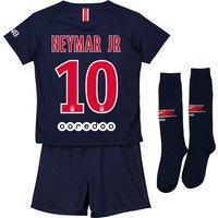 Paris Saint-Germain Home Stadium Kit 2018-19 - Little Kids with Neymar Jr 10 printing