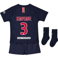 Paris Saint-Germain Home Stadium Kit 2018-19 - Infants with Kimpembe 3 printing