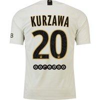 Paris Saint-Germain Away Vapor Match Shirt 2018-19 with Kurzawa 20 printing