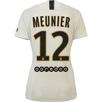 Paris Saint-Germain Away Stadium Shirt 2018-19 - Womens with Meunier 12 printing