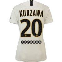Paris Saint-Germain Away Stadium Shirt 2018-19 - Womens with Kurzawa 20 printing