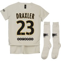 Paris Saint-Germain Away Stadium Kit 2018-19 - Little Kids with Draxler 23 printing