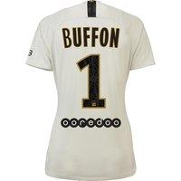 Paris Saint-Germain Away Stadium Shirt 2018-19 - Womens with Buffon 1 printing