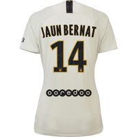 Paris Saint-Germain Away Stadium Shirt 2018-19 - Womens with Juan Bernat 14 printing