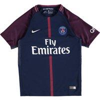 Paris Saint-Germain Home Stadium Shirt 2017-18 - Kids