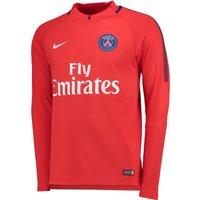 Paris Saint-Germain Squad Drill Top - Red